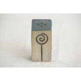 """Weißiger Keramik Salzstreuer """"Rose"""" diagonal"""