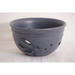 Weißiger Keramik Teelichthalter durchbrochen