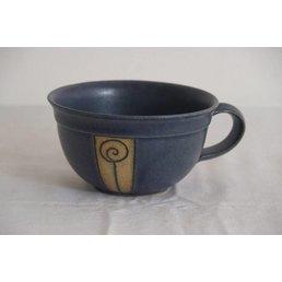"Weißiger Keramik Teetasse ""Rose"""