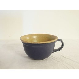Weißiger Keramik Teetasse zweif.