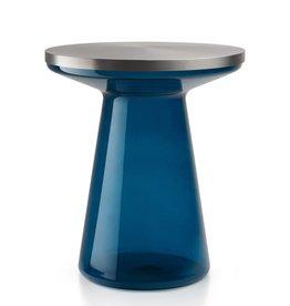 FIGURE - blau/edelstahl