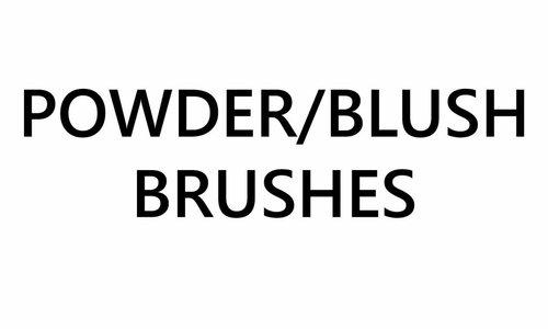 Poudre / Blush Brosses