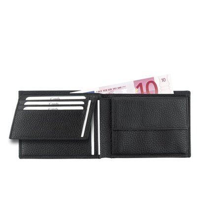 Leren portemonnee met extra binnenvak