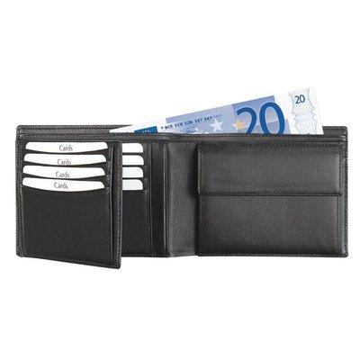 Leren heren portemonnee