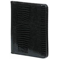Kalpa A4 Schrijfmap Kalpa Alpstein met rits Gloss Croco zwart