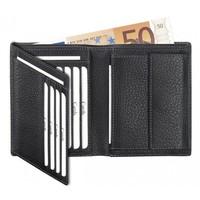 Leren portemonnee voor briefgeld en creditcards