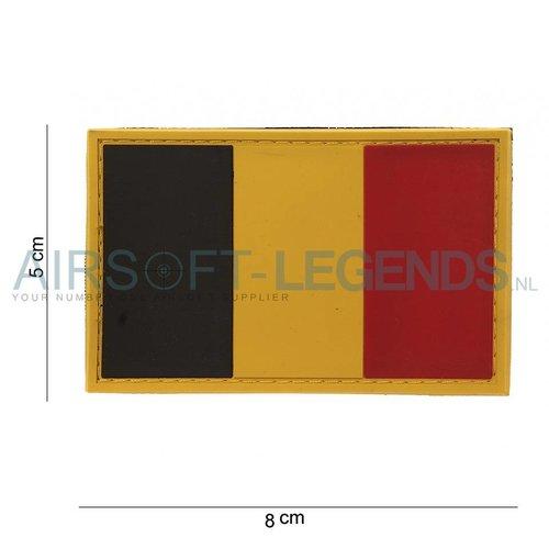 101Inc. 101Inc. Belgische Vlag Rubber Patch