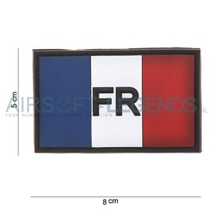 101Inc. 101Inc. French Vlag FR Rubber Patch