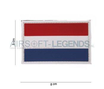 Dutch Flag Rubber Patch