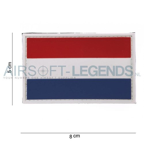 101Inc. 101Inc. Dutch Flag Rubber Patch