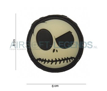 JTG Nightmare Smiley Rubber Patch