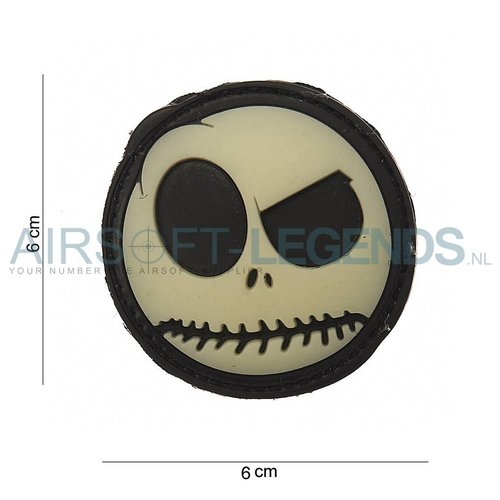 JTG JTG Nightmare Smiley Rubber Patch