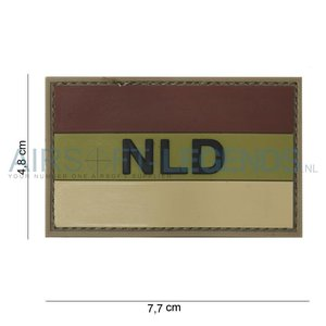 101Inc. 101Inc. NLD Rubber Patch Bruin/Ecru
