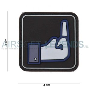 JTG JTG Dislike Rubber Patch