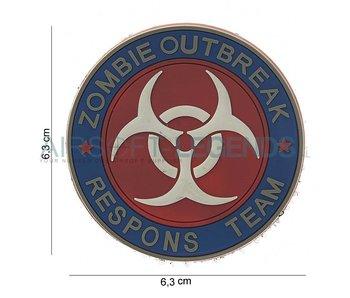 JTG Zombie Outbreak Rubber Patch Fullcolor