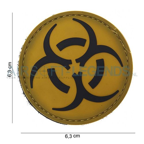 101Inc. 101Inc. Resident Evil Rubber Patch Yellow