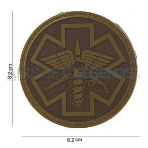 101Inc. 101Inc. Para Medic Rubber Patch Tan