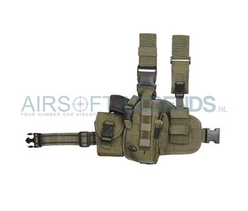 101Inc Molle leg Holster Right (Several camo's)