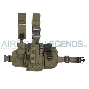 101Inc. 101Inc Molle Leg Holster left (Several camo's)