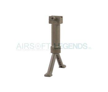Battle Axe Tactical Bipod Grip - Desert