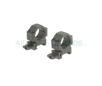Leapers CNC - Low Mount Rings 25.4mm
