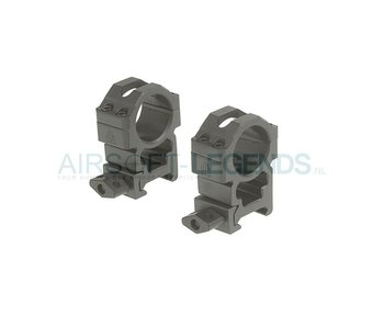 Leapers CNC - High Mount Rings 25.4mm