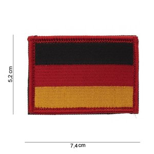 101Inc. 101Inc German Flag Flag of fabric with Velcro