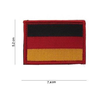 101Inc Duitse vlag Patch van stof met Velcro