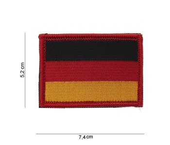 101Inc German Flag Flag of fabric with Velcro