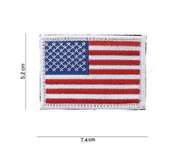 101Inc US Flag | Stof met klitteband