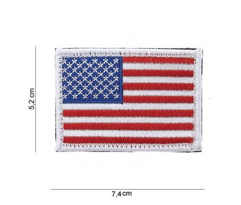 101Inc US flag with velcro