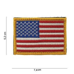 101Inc. 101Inc. US Vlag Yellow | Stof met Velcro