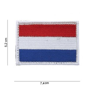 101Inc. 101Inc NLD Vlag | Stof met Velcro