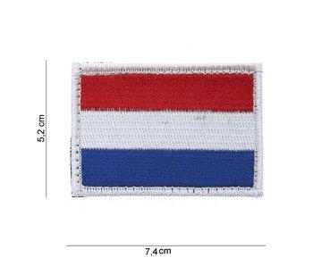 101Inc NLD Flag | Stof met klitteband