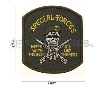 101Inc Special Forces Patch