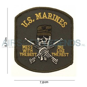 101Inc. 101Inc U.S. Marines Patch
