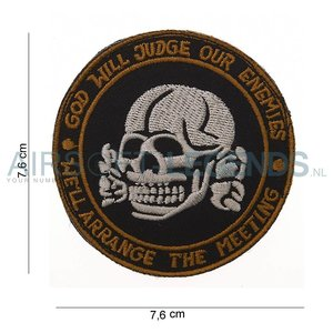 101Inc. 101Inc GOD Will Judge Our Enemies Patch