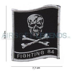 101Inc. 101Inc Fighting 84 Skull Patch