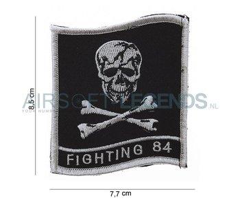101Inc Fighting 84 Skull Patch