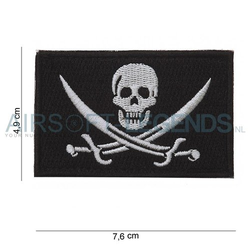 101Inc. 101Inc Skull Swords Patch