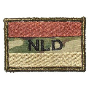 Airsoft-Legends NLD Patch in Multicam