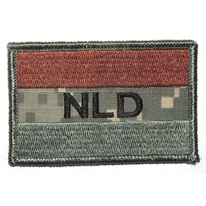Airsoft-Legends NLD Patch in ACU