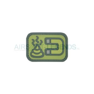 JTG JTG Shit Magnet Rubber Patch ACU