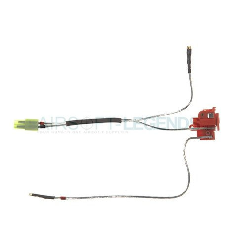 King Arms King Arms Silver Cord & Switches Set V2 Rear Wiring