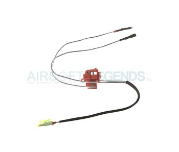 King Arms Silver Cord & Switches Set V2 Front Wiring