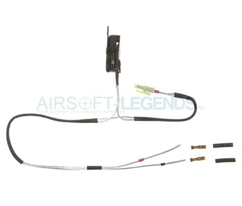 King Arms Silver Cord & Switches Set G36 Front Wiring