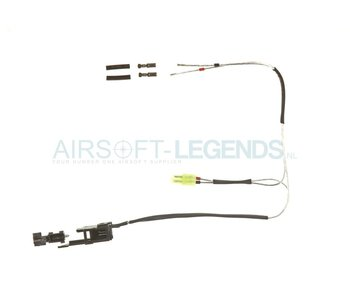 King Arms Silver Cord & Switches Set V3 Front Wiring