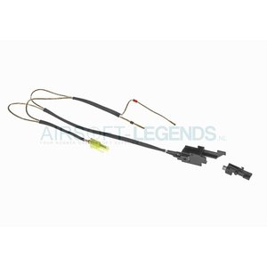 King Arms King Arms Silver Cord & Switches Set V3 Rear Wiring