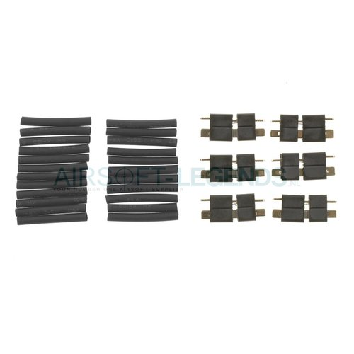King Arms King Arms T-Type Connector Plugs 6pcs