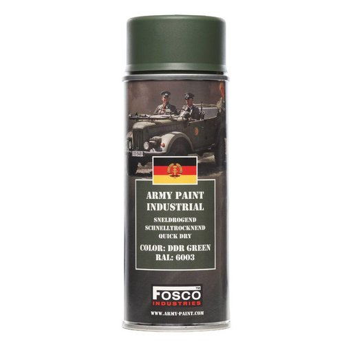 Fosco Fosco Army Paint 400ml - DDR Green RAL6003
